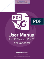 FoxitPhantomPDF831 Manual