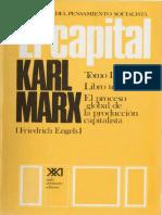 El Capital Vol. 6 (Libro III-I)