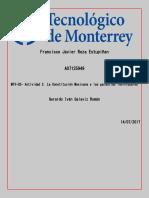 La Constitucion Mexicana y Las Garantias Individuales