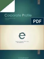 Corporate Presentation Profile Editable