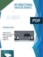 Omni Directional Underwater Robot