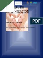 Manual de Organizacion Tamiz Neonatal
