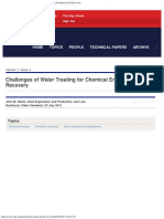 OGF Article - Challenges of Water Treating for Chemical Enhanced Oil Recover