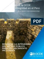 Peru Estudio Integridad Folleto