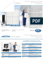 Digitalizador inalámbrico para equipos de rayos X