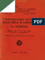 L'esplorazione tattica delle unità di fanteria. La sicurezza.pdf