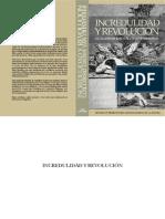 Groen van Prinsterer - Incredulidad y revolución.pdf