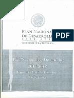 2013.03.06 Plan Nacional de Desarrollo 2013-2018