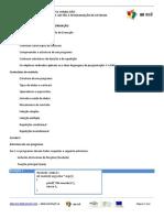 Módulo 2 - Mecanismos de Controlo de Execução Em C