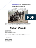 Military Resistance 8H5 Afghan Wounds