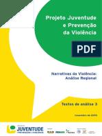 Eixo 1 Narrativas Da Violencia Analise Regional 2010