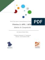 Práctica 2 Modelos de Computación AFN - AFND