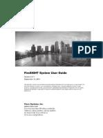 FireSIGHT System User Guide Version 5 3 1