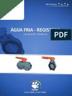 Ct Registros Agua Fria