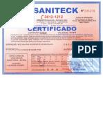 Certificado de Detetização