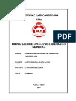 Monografia La China