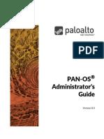 PAN‐8.0 Admin UID