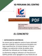 Clase 05 Tecnologia Del Concreto Diseño de Mezcla