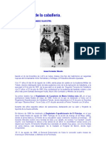 Personajes de la caballería. General MANUEL FERNANDEZ SILVESTRE