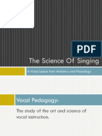 The Science of Singing