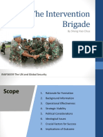 Presentation - UN Intervention Brigade