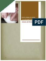 Manual de Procedimientos de Tamiz Metabolico