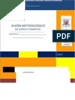 Guion Metodologico- Marzo-2015 (1nuevo