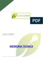 Memoria Tecnica Descriptiva