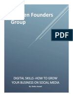 WFG on Digital Skills on How to Grow Your Business on Social Media by Shehu Awwal