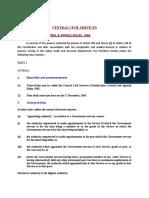 Rules of Ccs Cca 1965