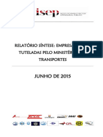 Transportes Relatório Síntese 2014 v1