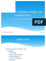 HTTP 5105 Database Design and Development Lecture 6 PLSQL Introduction Fall 2015 (1).pptx