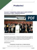Compromiso Unitario Para La Gobernabilidad Suscrito Por La Mud - Prodavinci
