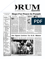 The Forum Gazette Vol. 4 No. 22 December 1-15, 1989