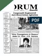 The Forum Gazette Vol. 5 No. 2 January 16-31, 1990