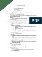 Biol 270-- Exam 5 Notes