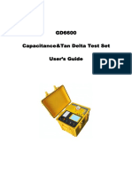 GD6600 Capacitance and Dissipation Factor Tester- Manual
