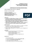 PROGRAMA IV JORNADAS TRINITARIAS P P '07