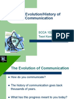 Comm Dev & History - Lec 2