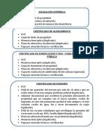 Requisitos Para Documentos