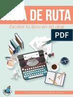 Hoja de Ruta Escribir Libro 60 Dias