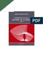 Fichte, J.G. (Trad. de Juan Cruz Cruz) - Fundamento de toda la Doctrina de la ciencia (1794).pdf