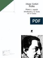 Fichte, J.G. - Primera y segunda introducción a la Teoría de la Ciencia.pdf