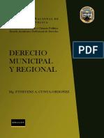 Derecho Municipal y Regional Libro (1)