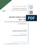Morelia Ciudad y Poder 19501970