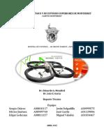 Reporte Técnico AR Drone Kinect Control