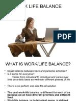 Work Life Balance Thesis Ppt