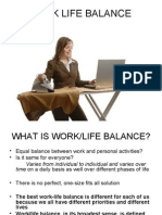 Work Life Balance Thesis Ppt
