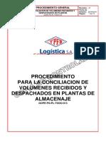 Gope-pg-pl-Todo-013 Conciliacion Volumenes - Plantas (Cnc)
