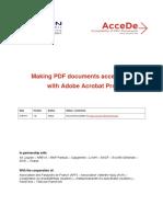 Making PDF Accessible Acrobat
